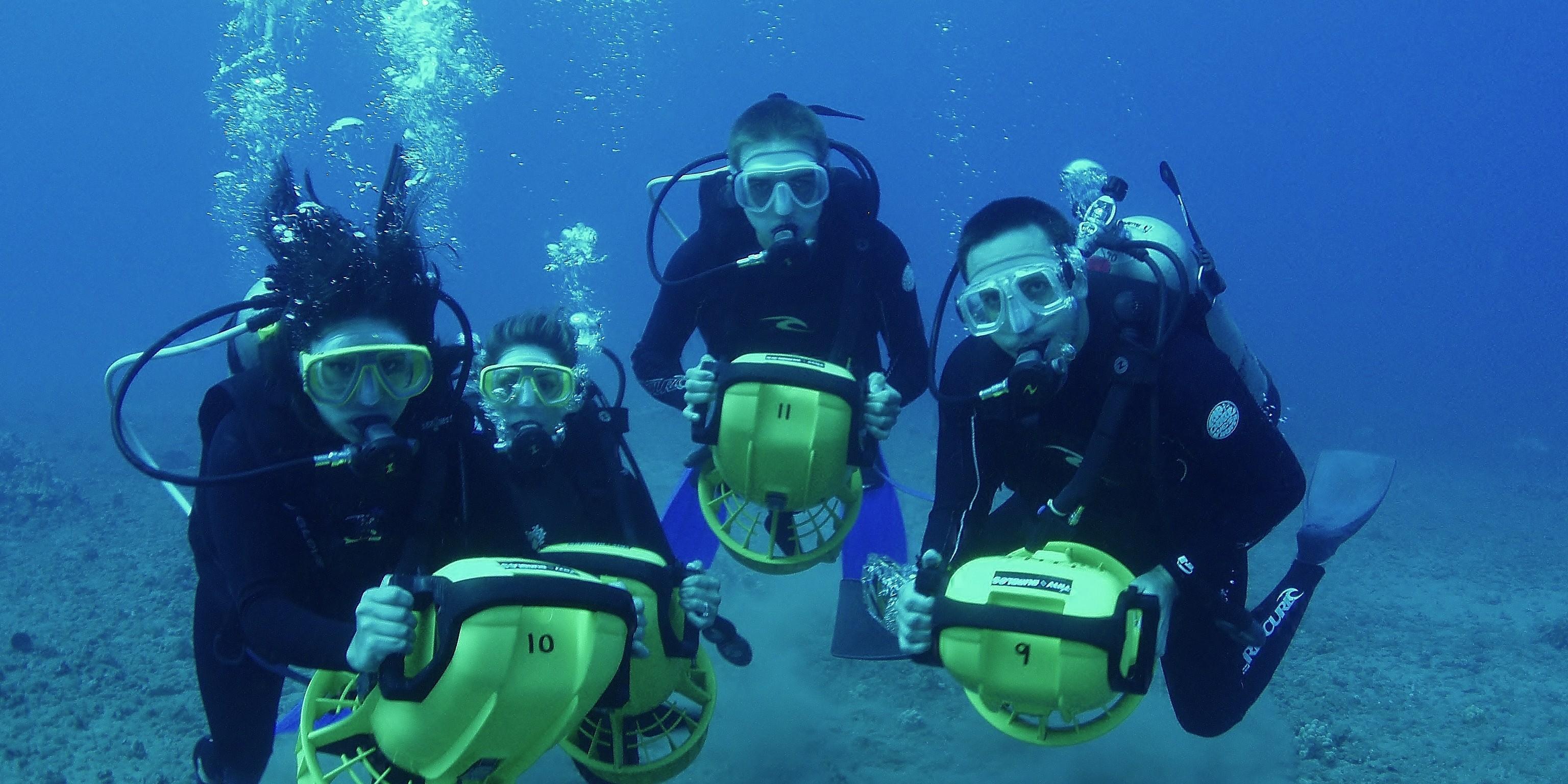Подводные скутеры своими руками 17